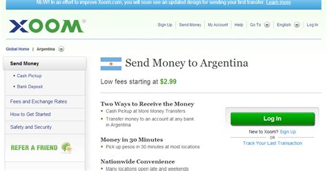 currency converter xoom buenos aires or bust xoom money transfer in buenos aires