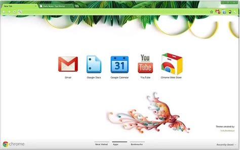 wesley designs chrome themes yulia chrome theme