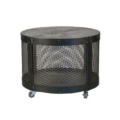 1000 Images About Industrial Chic On Pinterest Round Metal Drum Coffee Table