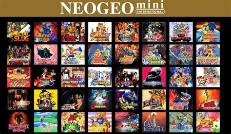 neogeo mini の発売日が2018年7月24日に決定 予約が開始