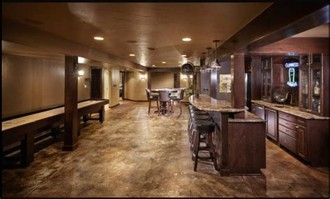 stained concrete in basement stained concrete basement floor beautiful concrete floors