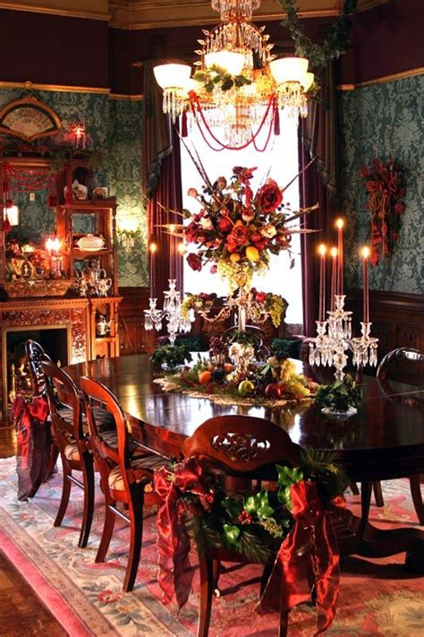 17 best ideas about christmas dining rooms on pinterest best 25 victorian christmas decorations ideas on