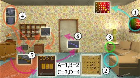 Escape The Room Walkthrough In Words by Escape Challenge Level 7 Solver