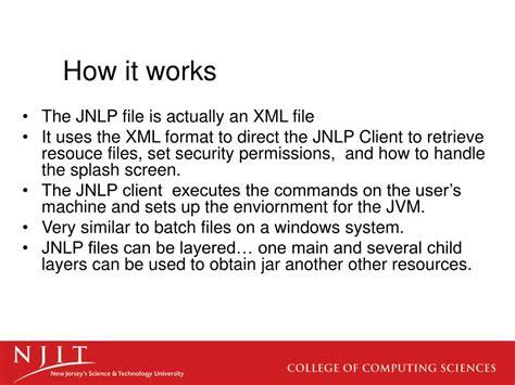 format file jnlp ppt java network launch protocol jnlp powerpoint