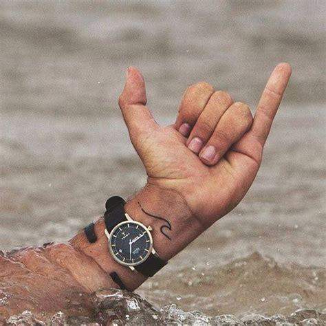 wave wrist tattoo cool small tattoos for guys 30 beautiful tiny ideas