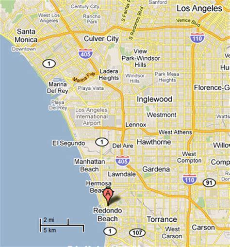 redondo california map sighting reports 2011