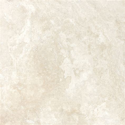 shop allen roth 12 in x 12 in ivory natural travertine floor tile at lowes com