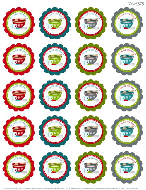 Free Printable From The Kitchen Of Labels