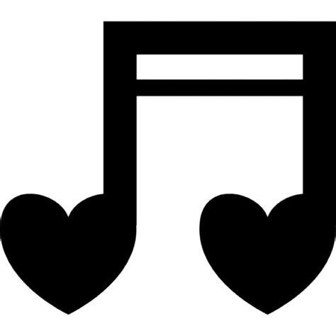 imagenes de notas musicales en forma de corazon notas de cora 231 227 o musicais download 205 cones gratuitos