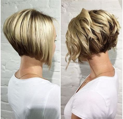 ways to style short hair for women over 50 38 super cute ways to curl your bob popular haircuts for