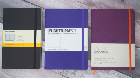 best notebooks the best notebooks for bullet journaling bujo 3