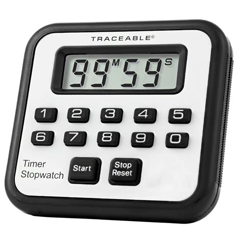 alarm traceable 174 timer stopwatch