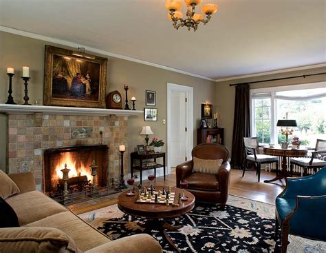 color living paint colors for living room with brick fireplace and