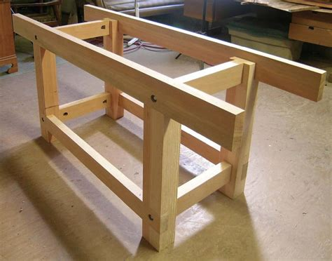 wood work bench plans shop project a good workbench is one of the most