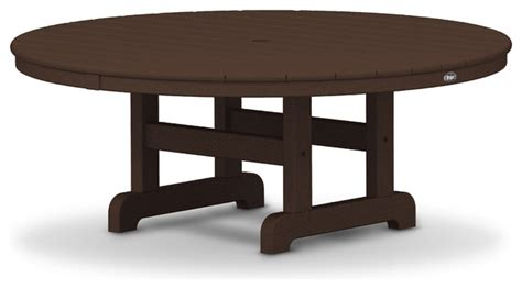 Cape Cod Dining Table Outdoor Cape Cod 48 Quot Conversation Table Traditional Outdoor Dining Tables By