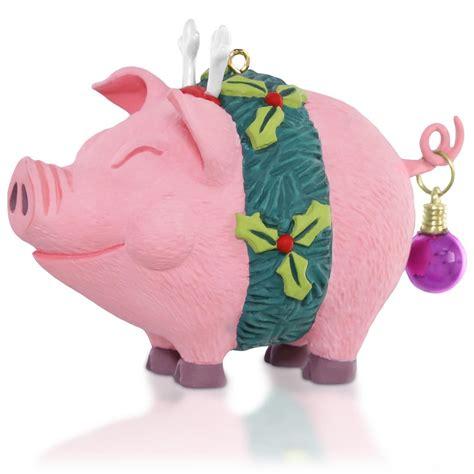 hallmark ornaments 2015 deck the hogs hallmark keepsake ornament hooked on