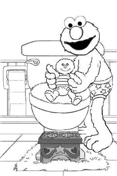 toilet training coloring pages coloring pages