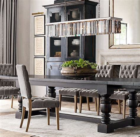 french farmhouse rectangular extension dining table decorating rectangle dining table dining room lighting black dining room table