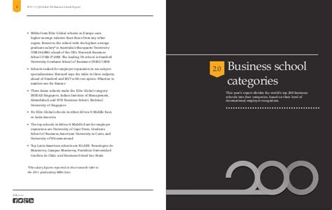 Macquarie Mba Gmat Score by Ranking Qs Quot Global 200 Business Schools Report 2013 Quot