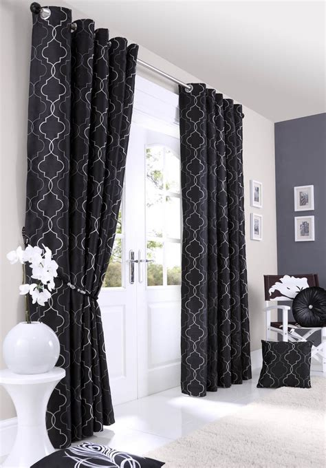 black curtains eyelet black curtains shop for cheap curtains blinds and save
