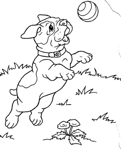 Free Printable Puppies Coloring Pages For Kids Puppy Coloring Pages To Print