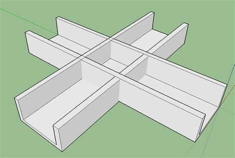 sketchup tutorial intersect how to create a clear cross intersection requests
