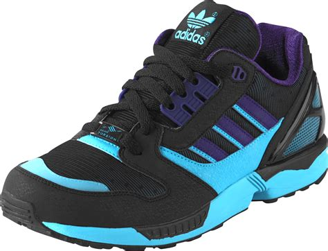 adidas zx 8000 shoes black blue