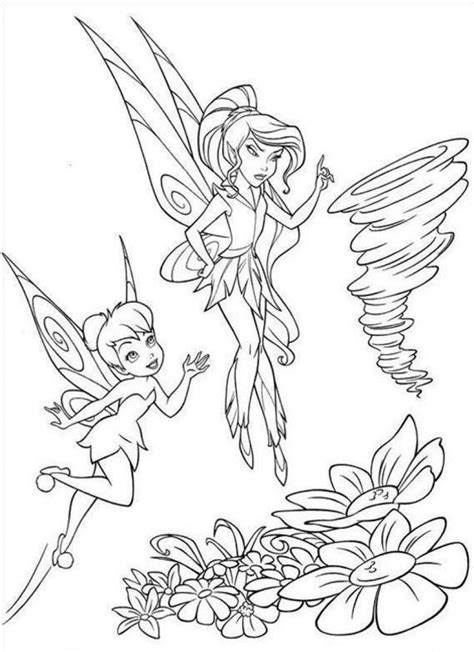 pin vidia tinkerbell queen clarion coloring pages free on