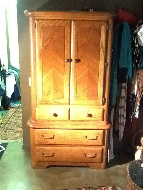 i a bedroom set of burlington furniture purchased