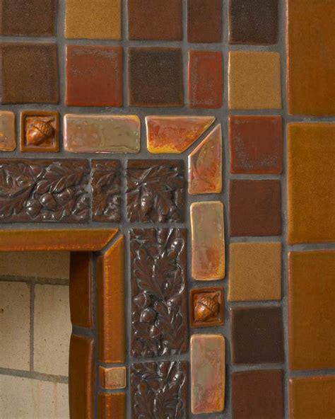 revival hearths design   arts crafts house