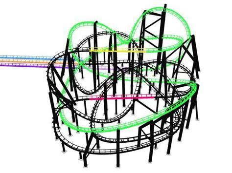 T Zone Rock N Rockin Hijau rock n roller coaster