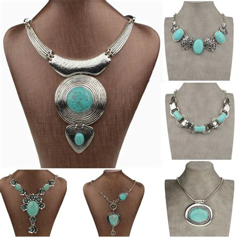 chunky for jewelry aliexpress buy vintage tibetan silver necklace
