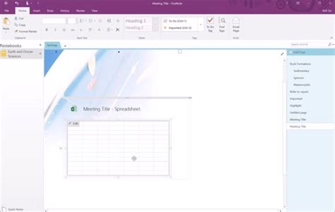 onenote section template section 5 onenote templates and tables teamacademic