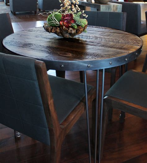 kitchen table denver reclaimed wood dining table modern kitchen denver by jw atlas wood co