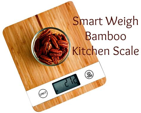 Bamboo Kitchen Scale by Smart Weigh Bamboo Kitchen Scale Review Crafty