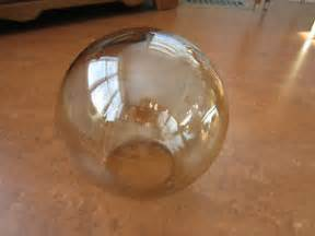 Glass Globes For Light Fixtures Replacements Smoke Glass Globe L Shade Ceiling Fan Lighting Fixture Replacement Ebay