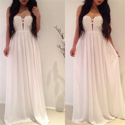 Flowly Maxy dress white flowy maxi dress white dress white maxi dress wheretoget