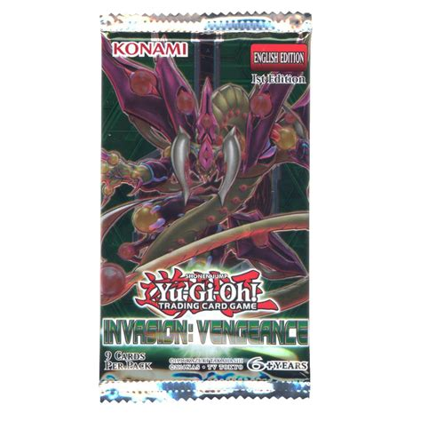 Yugioh Card Pack 9 Card yu gi oh cards vengeance booster pack 9