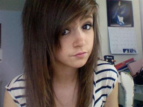 chrissy costanza hairstyles layered bangs tumblr google search hair pinterest