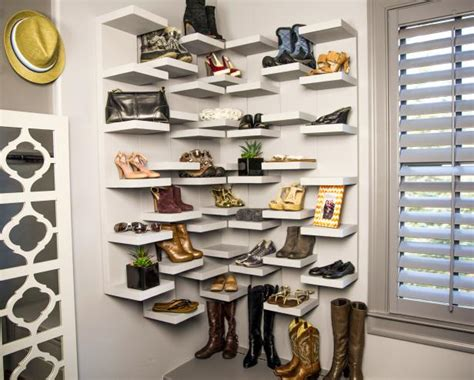shoe display storage how to make shoe storage display shelves how tos diy