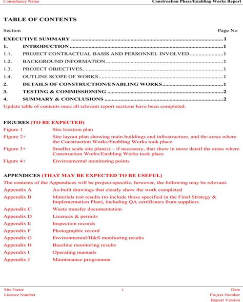 download contractor statement of work template for free