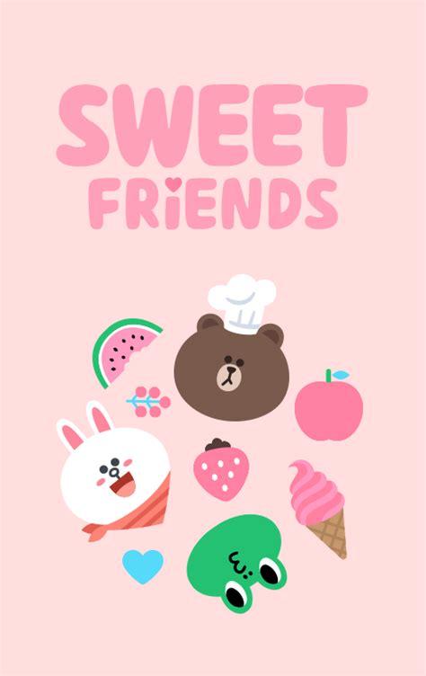 theme line android sweet friend ธ ม line sweet friends line555 com ซ อ ขาย สต กเกอร
