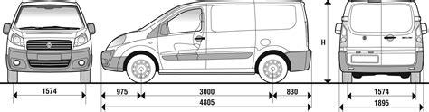 dimensioni interne fiat scudo 2007 fiat scudo panelled blueprints free outlines
