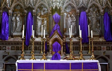 st purple by holy crossed covered