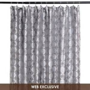 silverado silver shower curtain for the home
