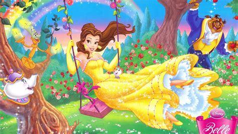 wallpaper of disney love disney love images belle swinging wallpaper hd wallpaper