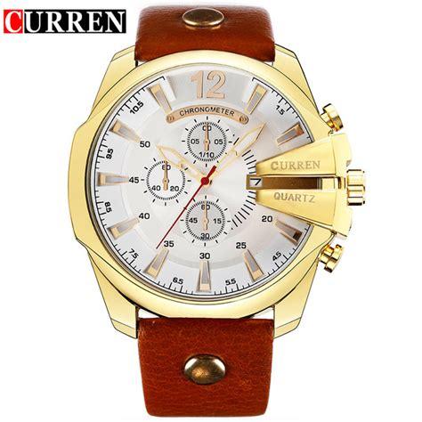 Curren Jam Tangan curren jam tangan analog pria mk52 white gold
