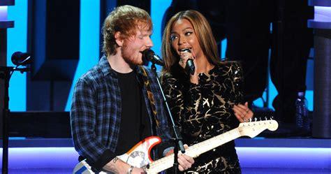 ed sheeran brands beyonce duet ed sheeran s duet with beyonc 233 is heading for number 1