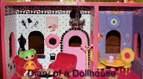 lalaloopsy mini doll house i created my own lalaloopsy mini doll house diary of a dollhouse