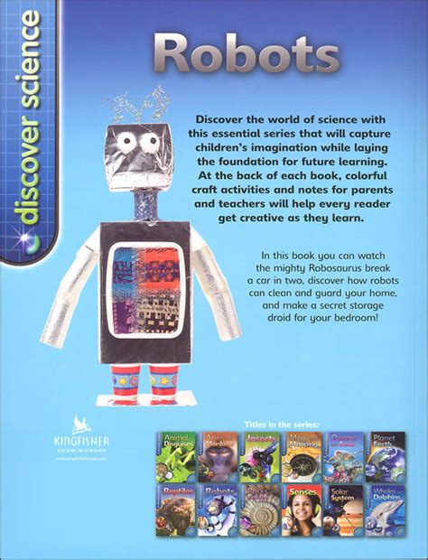 discover science robots 0753442299 discover science robots 062048 details rainbow
